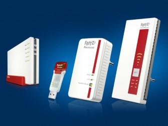 Für das zweite Quartal plant AVM auch neue Router-, Repeater- und WLAN-Stick-Modelle mit Gigabit-Performance (Bild: AVM).