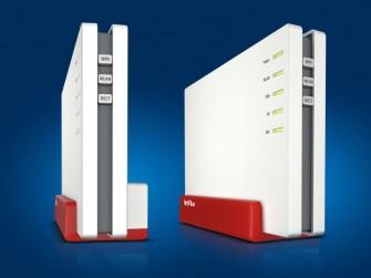 Die für das zweite Halbjahr angekündigte Fritzbox 4080 eignet sich für Glasfaseranschlüsse (Bild: AVM).