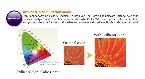 Benq brilliantcolor