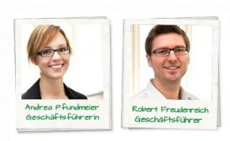 Andrea Pfundmeier und Robert Freudenreich von Boxcryptor (Screenshot: ITespresso)