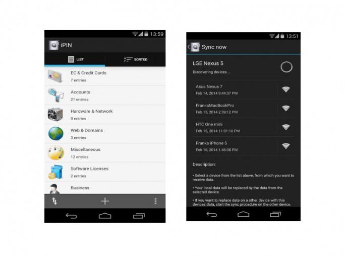 iPin für Android