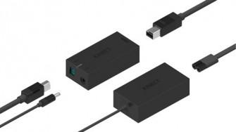 Hub und Netzteil für Kinect für Windows 2 (Bild: Microsoft)