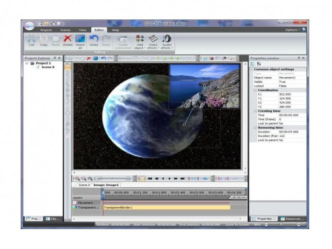 VSCD2 Free Video Editor (Bild: Flash-Integro)
