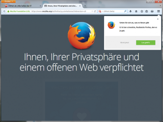 Firefox 29 (Screenshot: ZDNet.de)
