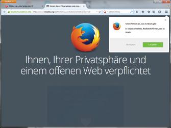Firefox 29 (Screenshot: ZDNet.de)
