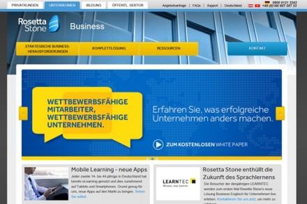 Homepage Rosetta Stone
