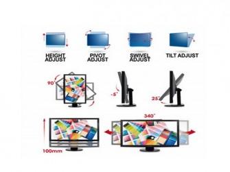 Einstellmöglichkeiten der Viewsonic-Monitor-Reihe VG33SMH