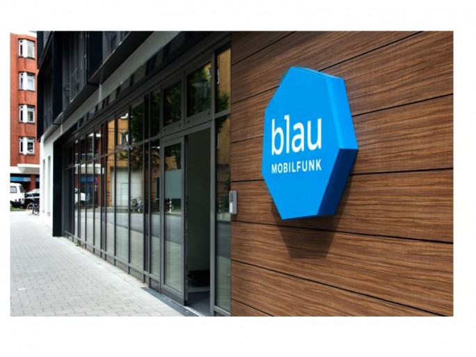 blau-Mobilfunk-Eingang (Bild: blau.de)