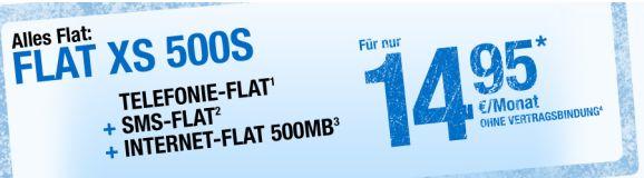 Flat XS 500S