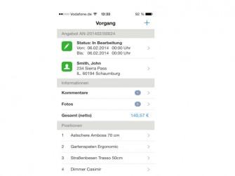 GS-Office-Flex-App-Vorgangsbearbeitung