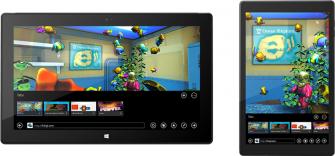 Internet Explorer 11 passt seine Darstellung an das jeweilige Gerät an (Bild: Microsoft).