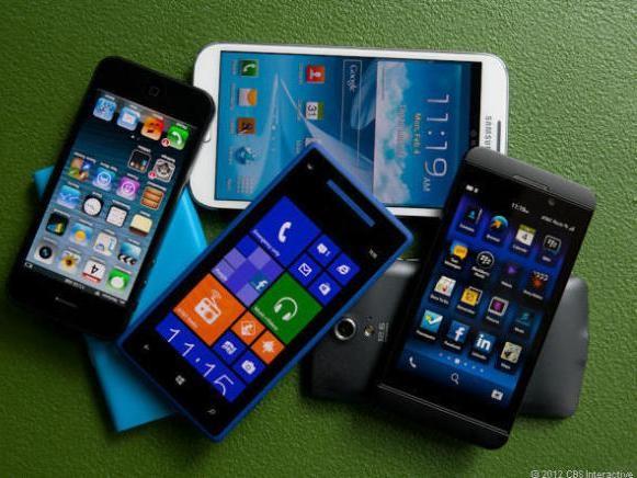 Smartphones (Bild: CNET)