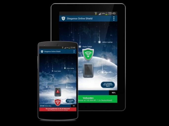 Steganos Onlineshield-365 für Android