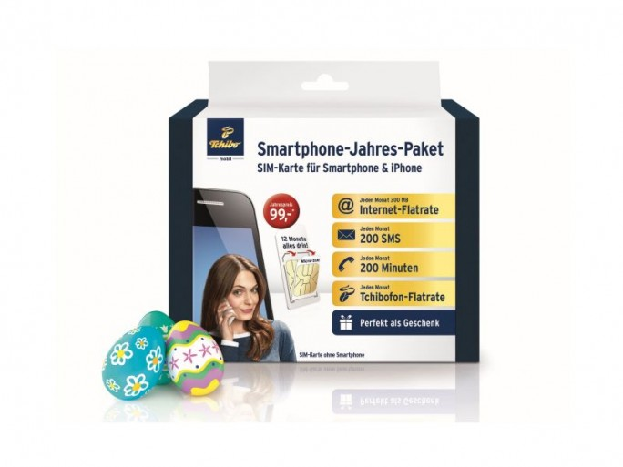 Tchibo-Smartphone-Jahrespaket Ostern2014