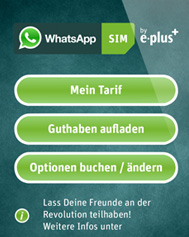 WhatsApp SIM (Screenshot: CNET.de)