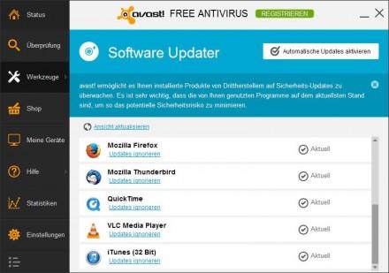 XP absichern: moderne Sicherheitslösungen bieten mehr als nur Schutz vor Viren. Oft kümmern sich die Tools auch darum, dass installierte Software immer aktuell bleibt. Zudem enthalten sie einen Browser-Schutz, der vor dem Besuch von als gefährlich eingestuften Webseiten warnt.