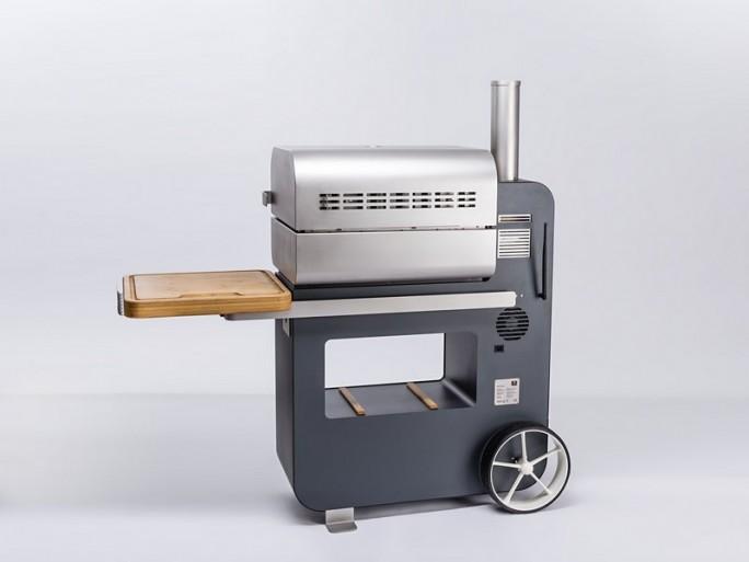 Der Pellet-Grill Bob Grillson 2014 Premium informiert den Griller via App stets über die Temperatur im Fleisch. (Bild: Grillson)