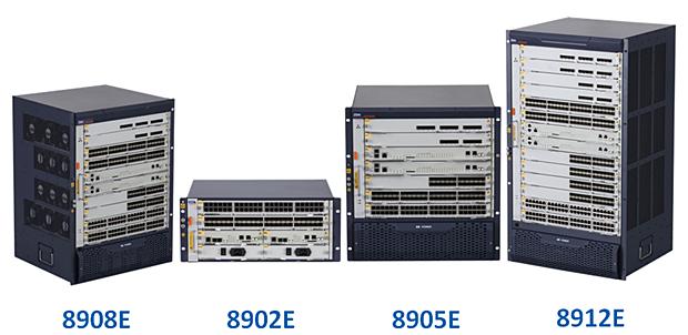 ZTE bietet auch im Enterprise-Bereich ein komplettes Produktportfolio, beispielsweise mit Switches (Foto: ZTE)