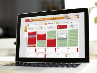 TerminApp-Web-App-Tagesansicht (Grafik: TerminApp GmbH).