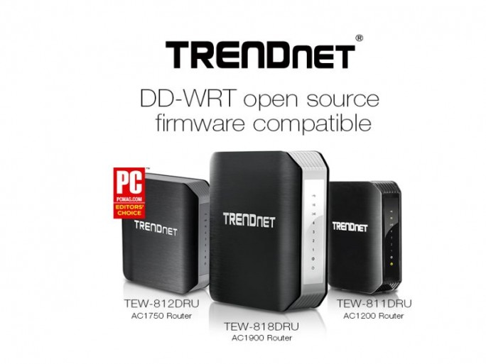 Trendnet DD-WRT-Router