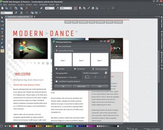 Magix Web Designer 10 Seiteneffekt