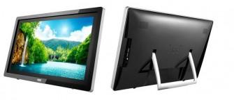 Die mySmart genannten All-in-One-Rechner von AOC kommen mit Android 4.2 und Bildschirmdiagonalen von 22 und 24 Zoll (Bild: AOC)