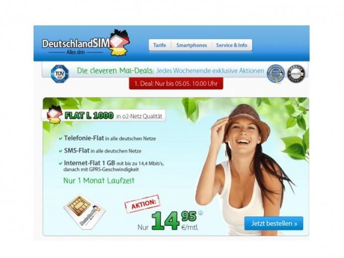 DeutschlandSIM-Mai-Deals 2014