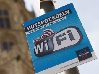 Mit dem Hotspot.Koeln-Netz hat die Domstadt nun auch ein kostenloses WLAN (Bild: Netcologne).