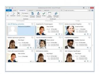 InLoox Arbeitspakete (Bild: InLoox)