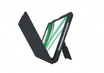 Leitz-iPad-Cover geklappt