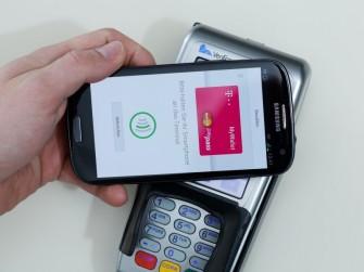 Übermittlung der Zahlung bei MyWallet (Bild: Deutsche Telekom)