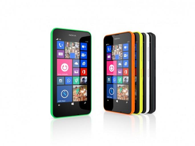 Lumia 630 (Bild: Microsoft)
