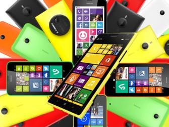 Smartphones mit Windows Phone (Bild: Microsoft)