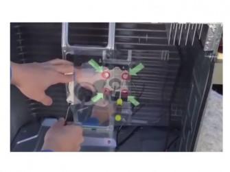 Im Zuge der Vorstellung des Metaio SDK zeigt das Unternehmen als Beispiel für die Augmented-Reality-Anwendung von See-Through-Brillen die PC-Reparatur (Bild: Metaio).