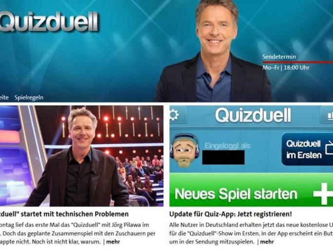 Quizduell (Screenshot: ITespresso bei NDR.de)