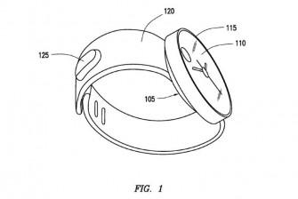Samsung hat sich Gestensteuerung für Wearables patentieren lassen  (Bild: Samsung / USPTO).