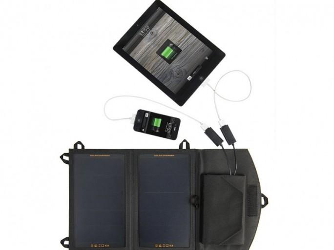 Solarbooster-Aufladung-