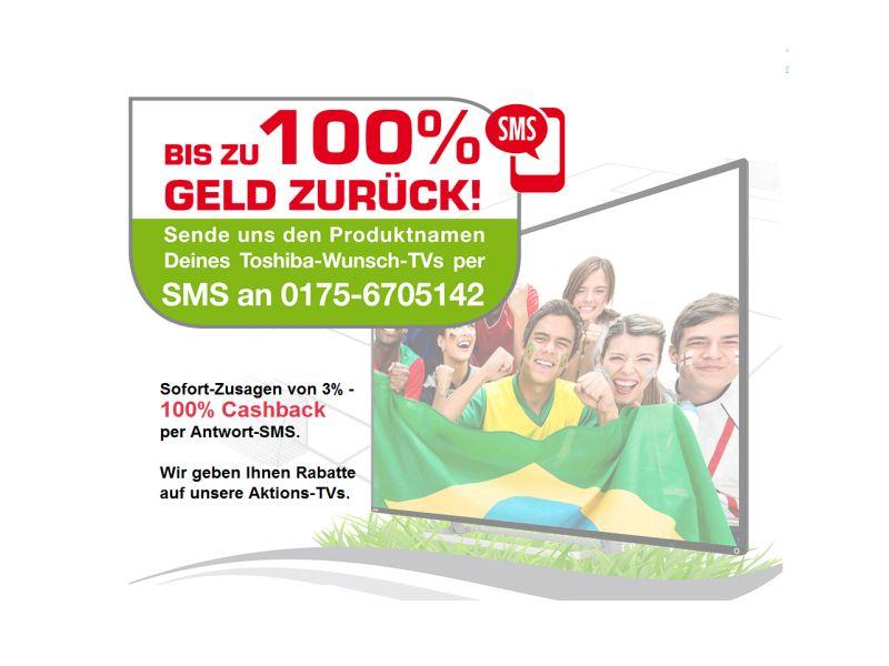 Toshiba startet für Fernseher Rabatt-Aktion zur Fußball-WM