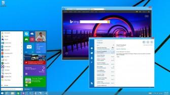Windows 8.1 mit Bing (Bild: Microsoft
