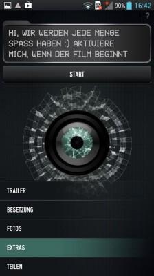 Die App zu dem am Montagabend im ZDF gezeigten Thriller APP (Screenshot: ITespresso).