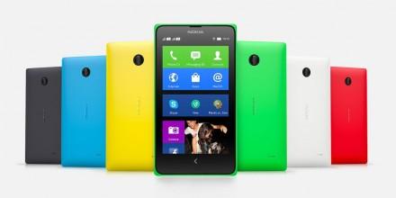 Das aktuelle Android-Smartphone Nokia X in der Dual-SIM-Ausführung (Bild: Microsoft)