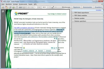Prompt Agent in Adobe Reader