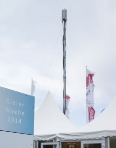 Bei LTE-Broadcast kann die von den Netzbetreibern bereits für LTE aufgebaute Netztechnik zum Einsatz kommen (Bild: Janina Schuster / Vodafone).