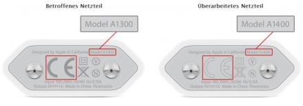 5W-USB-Netzteil von Apple.
