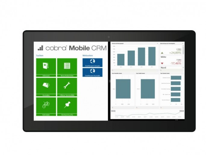 Cobra Mobile für Windows 8.1