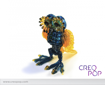 Eine mit Creopop hergestellte Eule. (Bild: Creopop)