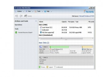 Disk Director 12 Recovery Expert