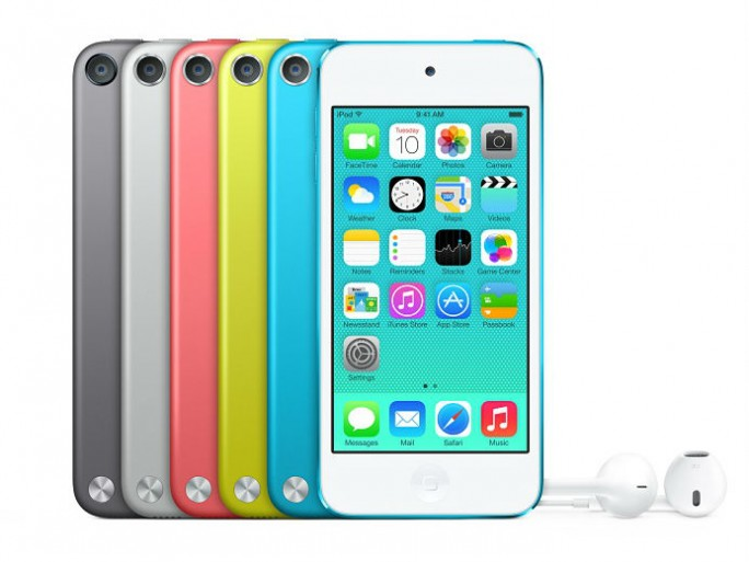 Die 16-GByte-Ausführung des iPod Touch ist nun auch mit iSight-Kamera und in sechs Farben erhältlich (Bild: Apple).