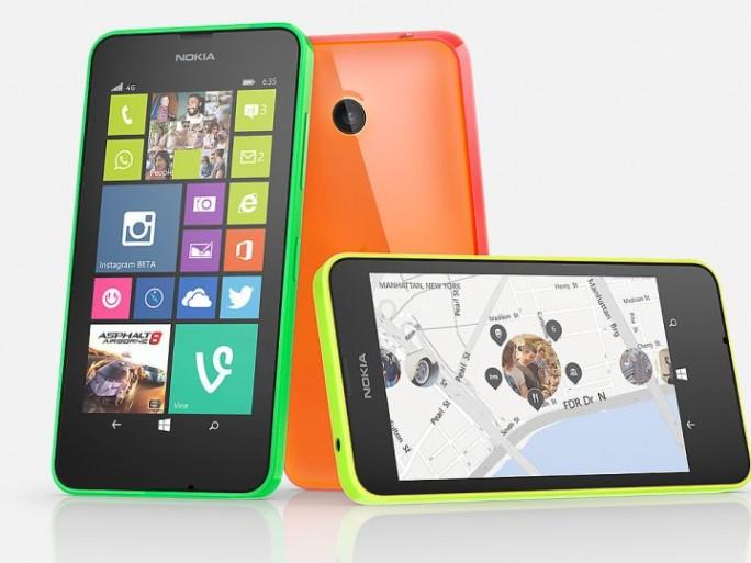 Nokia Lumia 635 (Bild: Microsoft)