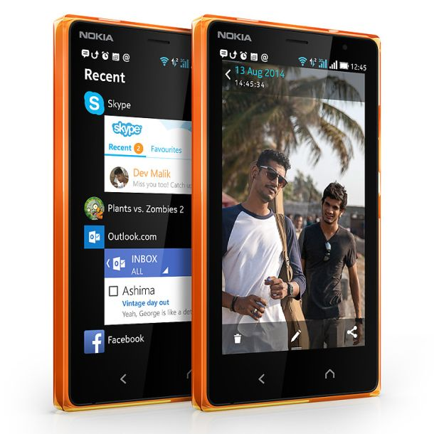 Mit Fastlane sollen Nutzer des Nokia X2 schnellen Zugriff auf zuletzt genutzte Apps erhalten (Bild: Microsoft)